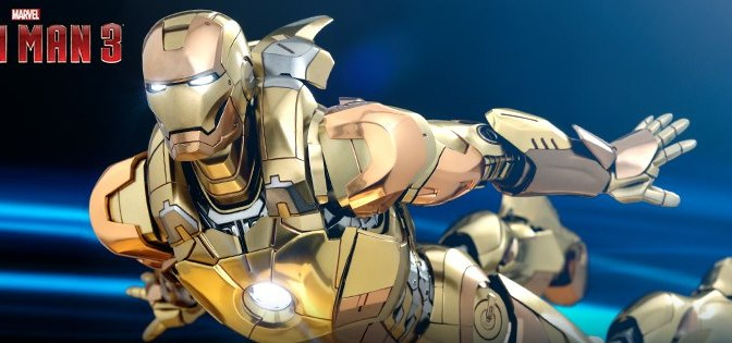 FIRST LOOK | HOT TOYS Reveals A New Iron Man Figure!