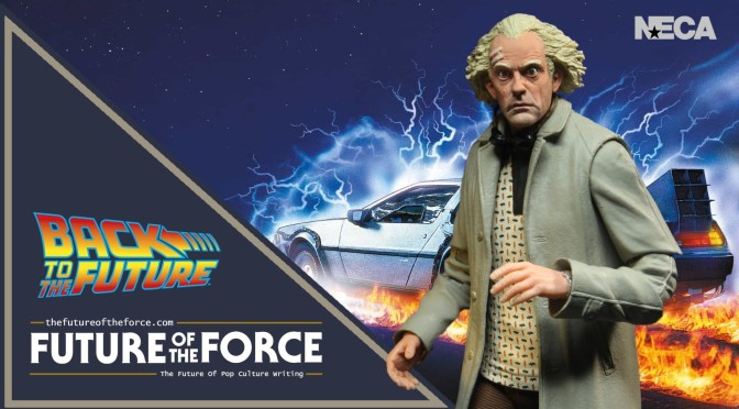 Great Scott!! | New Images Of NECA's Doc Brown (Back To The Future) Released
