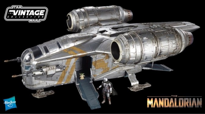 First Look | HasLab's Painted Razor Crest 'The Mandalorian' Revealed