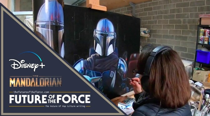 The Mandalorian And The Child Portrait Exhibition at London's National Portrait Gallery