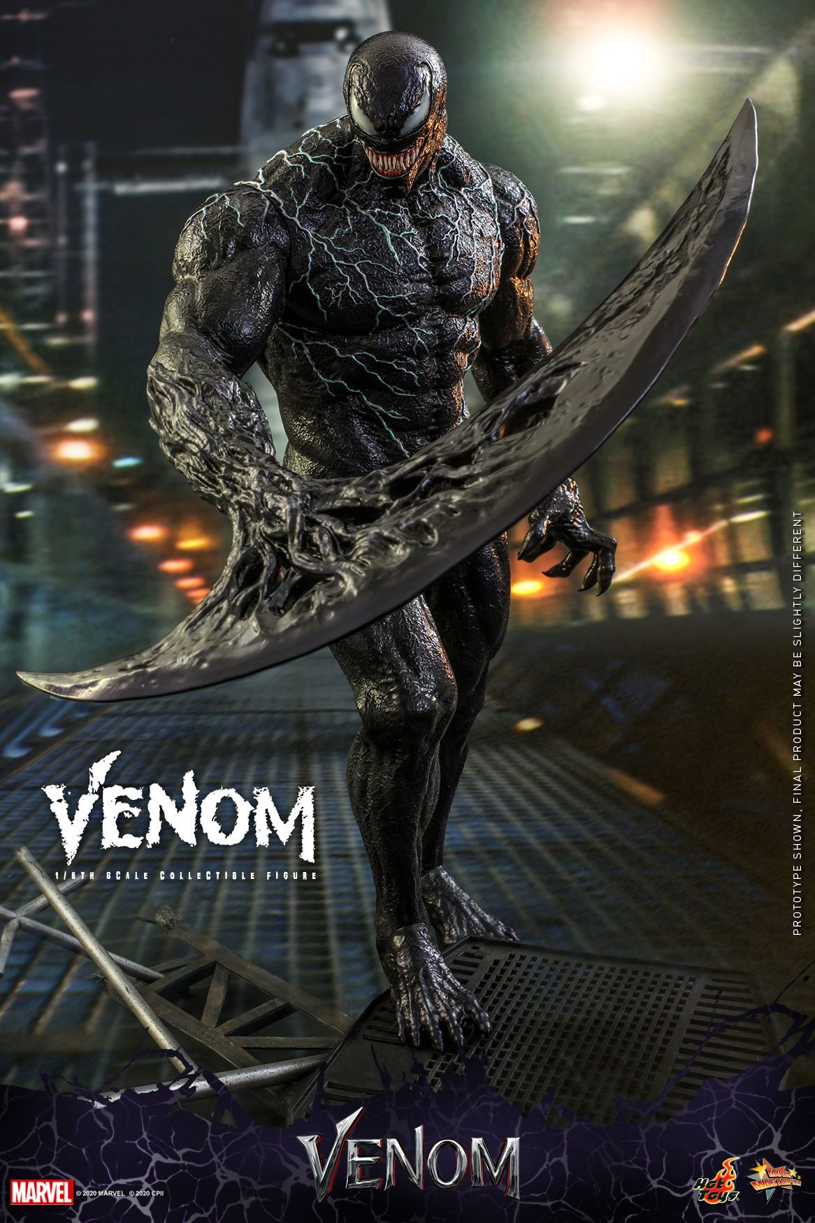 First Look Hot Toys Reveals Their Venom Figure Future Of The Force