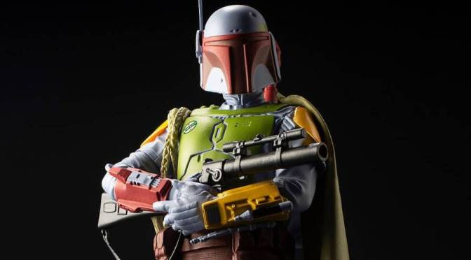 BAIT x Kotobukiya 'Star Wars: The Empire Strikes Back' Boba Fett Vintage Statue