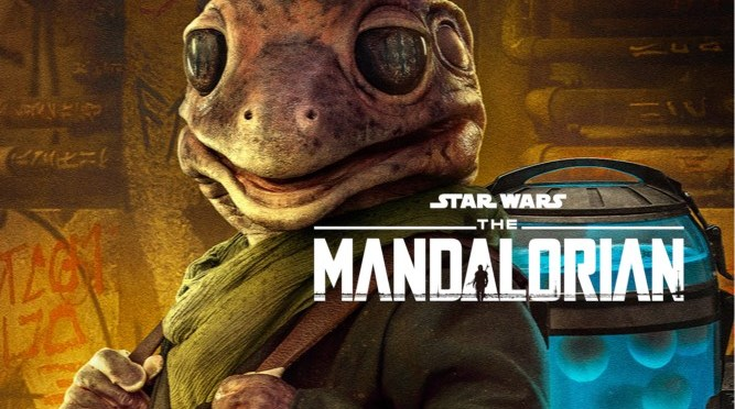 The Mandalorian | Disney Plus Unveils New Frog Lady Character Poster