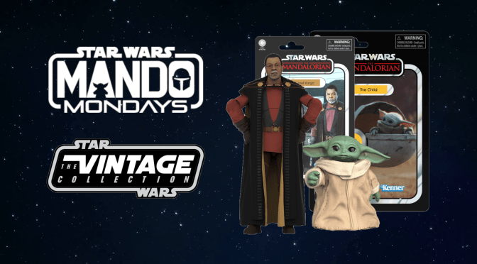 Mando Mondays | Greef Karga and The Child The Vintage Collection Figures
