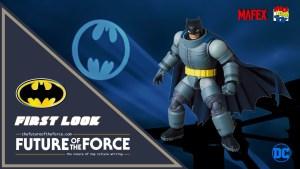 Mafex Medicom Armored Batman The Dark Knight Returns