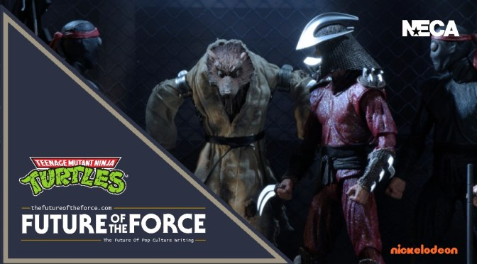 First Look |  NECA 'TMNT 1990 Movie' Splinter and Shredder Packaging Reveal