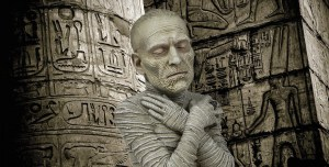 The Mummy Spinature Mini-Bust From Waxwork Records
