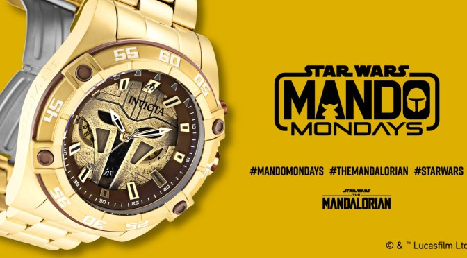 Mando Mondays | Invicta Unveils New Mando Armorer Quartz Watch