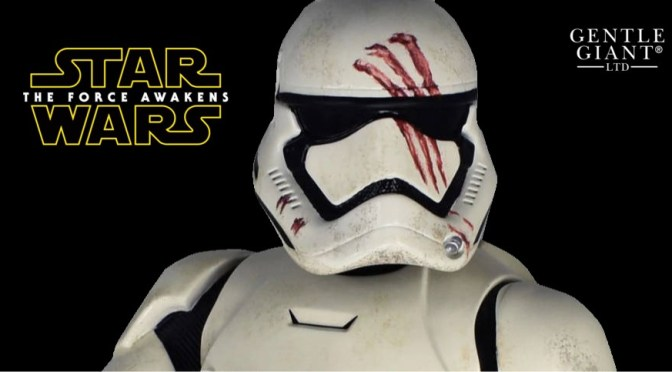 Star Wars The Force Awakens | FN-2187 Bust From Gentle Giant