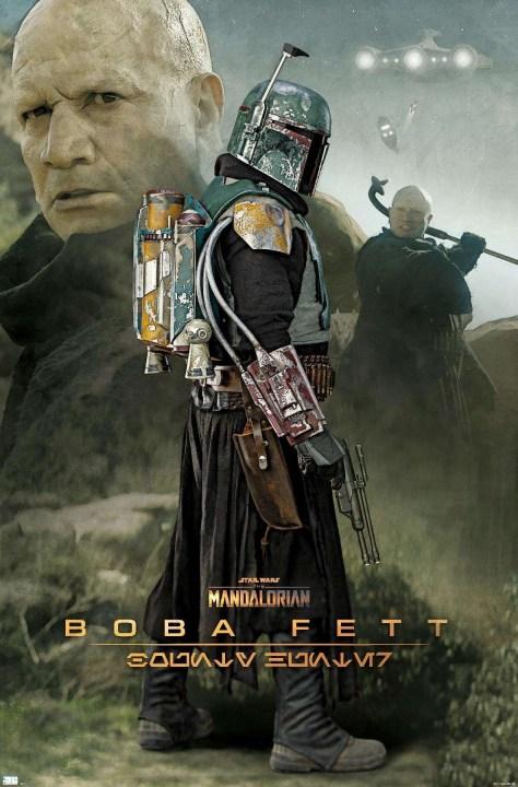 ShopTrends Boba Fett Poster The Mandalorian