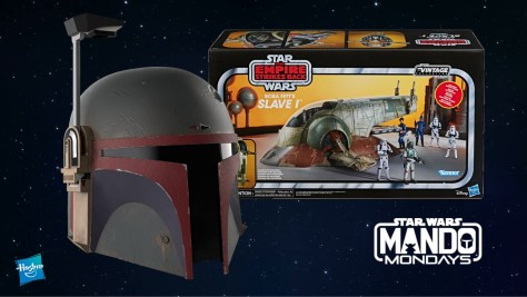Mando Mondays | Hasbro TVC Slave I, Boba Fett Helmet, Darksaber Force FX Lightsaber