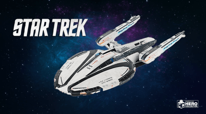 Avenger-Class Federation Battlecruiser | Eaglemoss Starship Collection