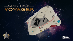 Delta Flyer XL | Eaglemoss Starship Collection