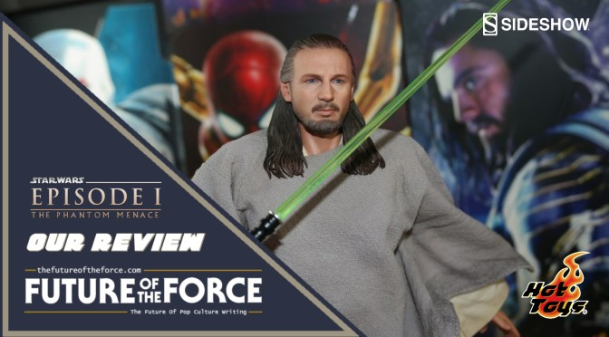 Qui-Gon Jinn (Star Wars: The Phantom Menace) HOT TOYS Unboxing