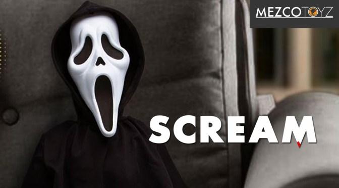 Mezco Unveils 18-Inch Ghost Face Plush