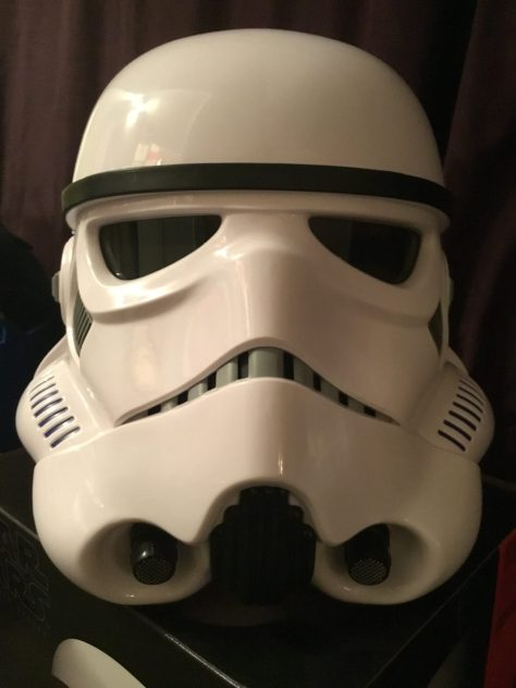Black Series Stormtrooper Electronic Voice Changer Helmet 002