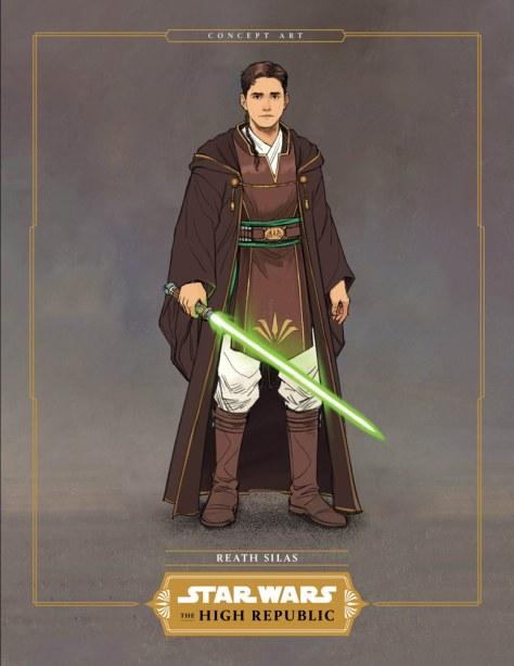 Reath Silas - The Jedi of The High Republic Into The Dark