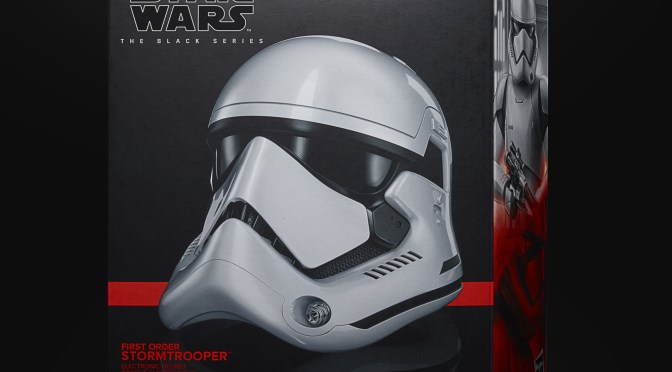 New Star Wars: The Black Series First Order Stormtrooper Electronic Helmet