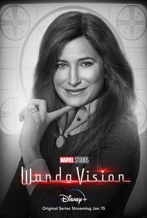 WandaVision Agnes Character Poster