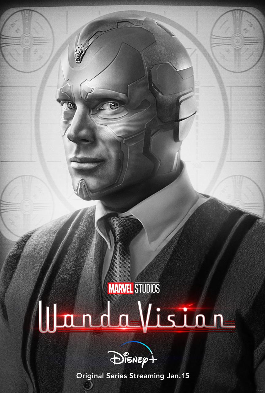 WandaVision Vision Character Poster