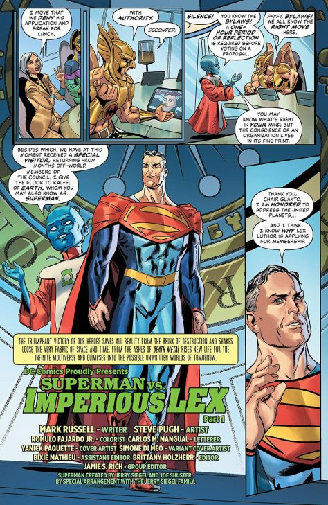 Future State Superman Vs Imperious Lex
