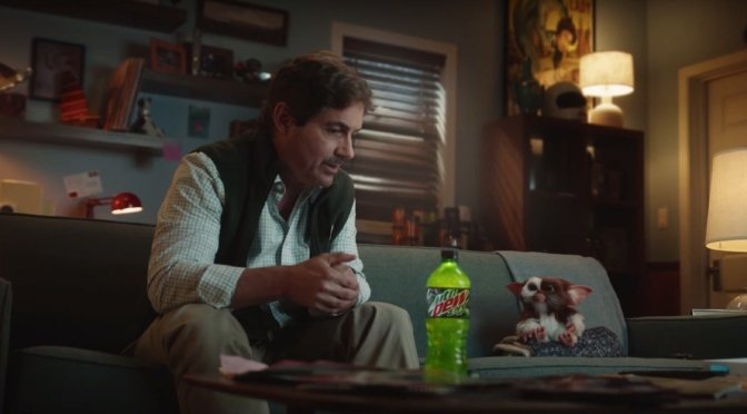 Galligan And Gizmo Reunite In Gremlins Mountain Dew Commercial!
