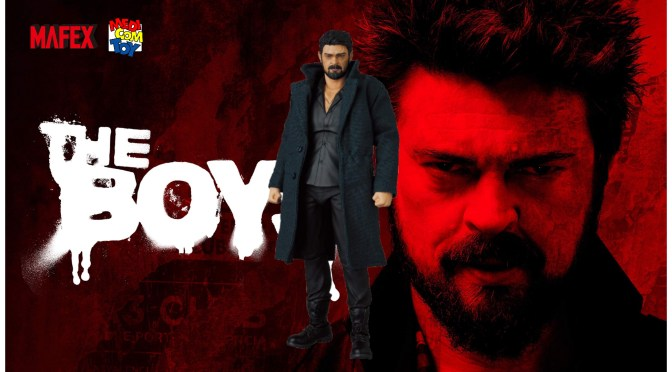 MAFEX Billy Butcher (The Boys) Details Revealed