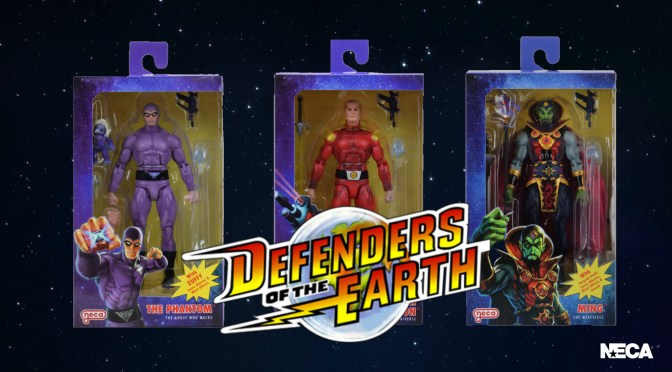 NECA Defenders of the Earth | Flash Gordon, Ming, And The Phantom