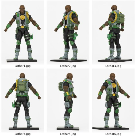 NECA Defenders Of The Earth Lothar