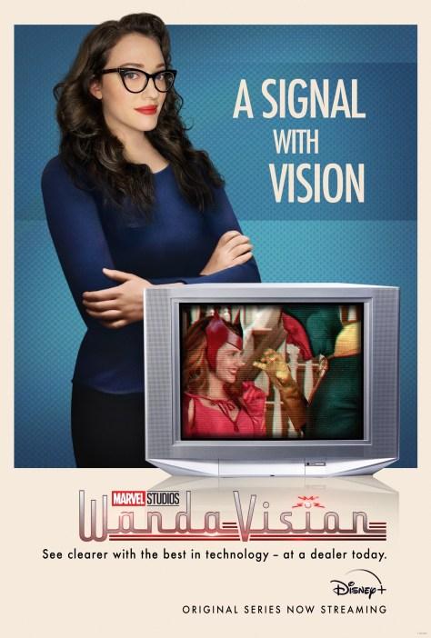 WandaVision Darcy Poster