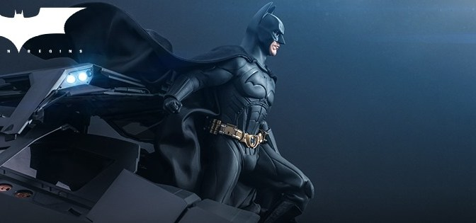 First Look | Hot Toys Batman & Batmobile (Batman Begins)