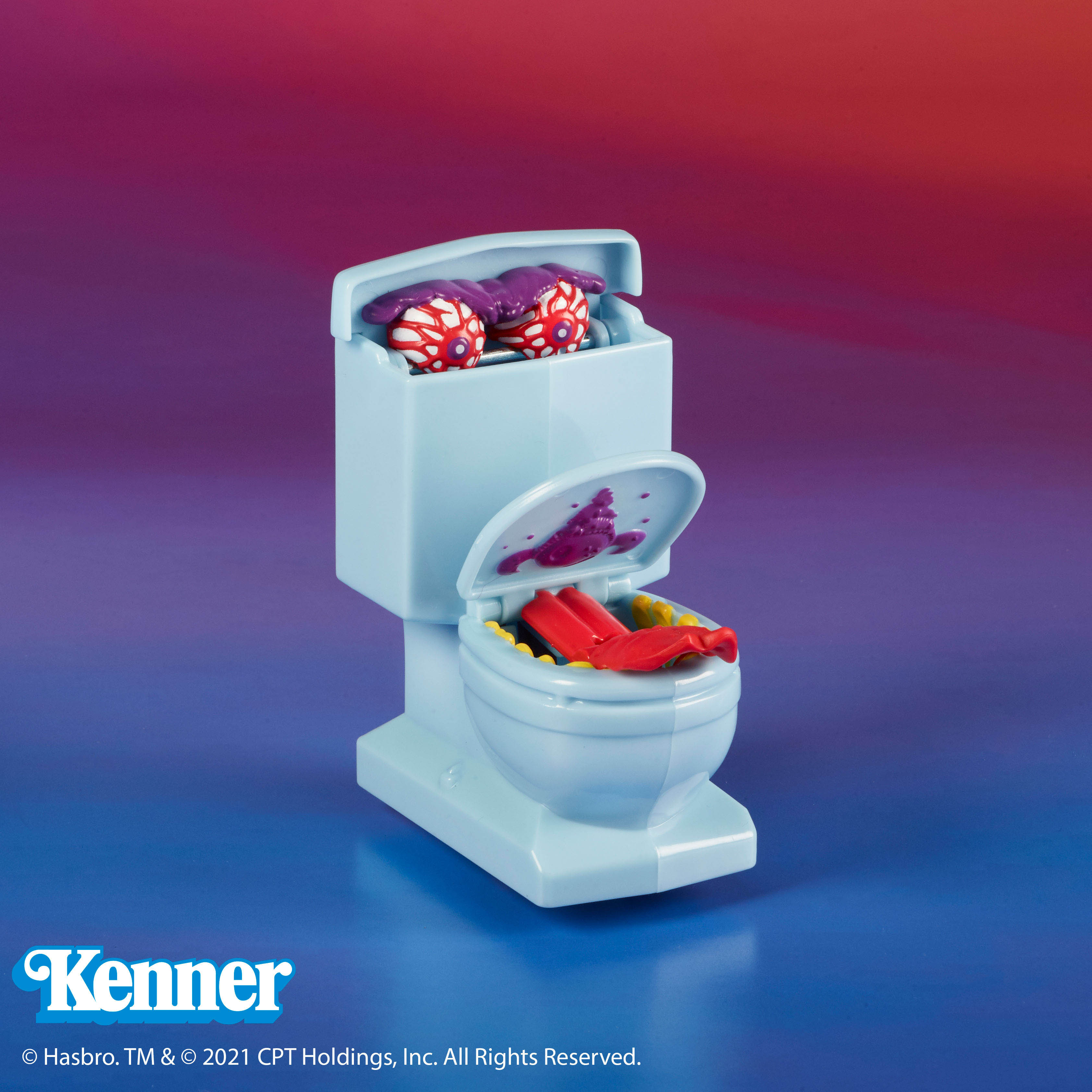 The Real Ghostbusters Kenner Fearsome Flush