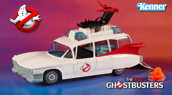 Kenner's The Real Ghostbusters Ecto-1 Gets A Reissue!