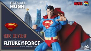 Mafex Superman Batman Hush Review