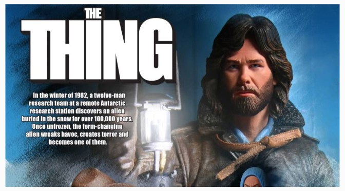 First Look | John Carpenter's The Thing – Ultimate MacReady By NECA Toys