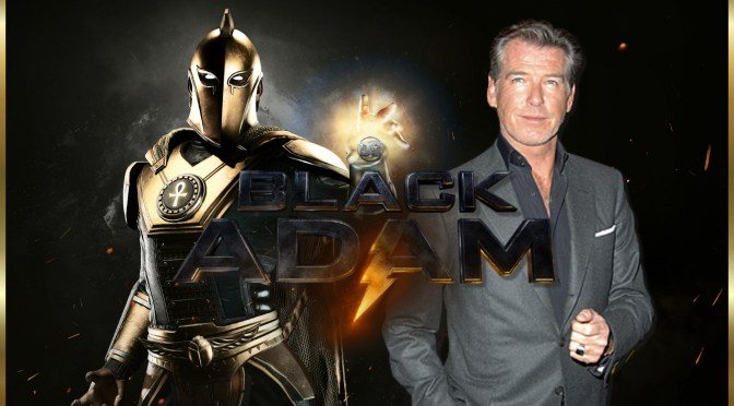 Pierce Brosnan Black Adam Casting