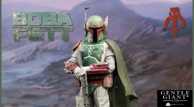 Boba Fett Star Wars: Return Of The Jedi Milestone Statue By Gentle Giant