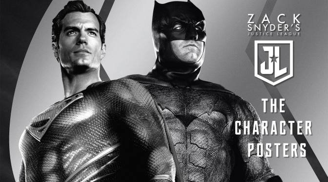 Zack Snyder's Justice League Character Posters