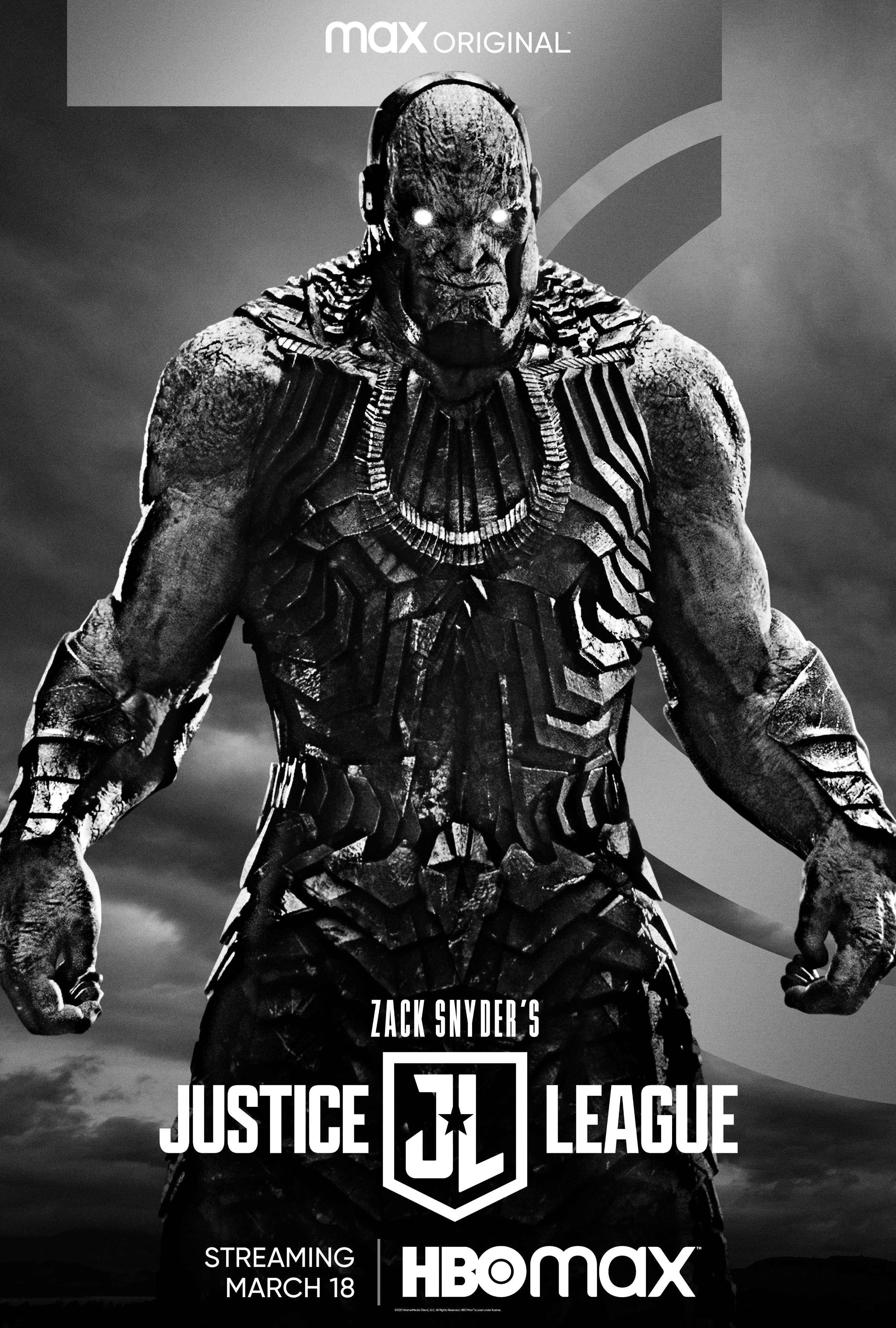 Zack Snyder's Justice League Darkseid Character Poster