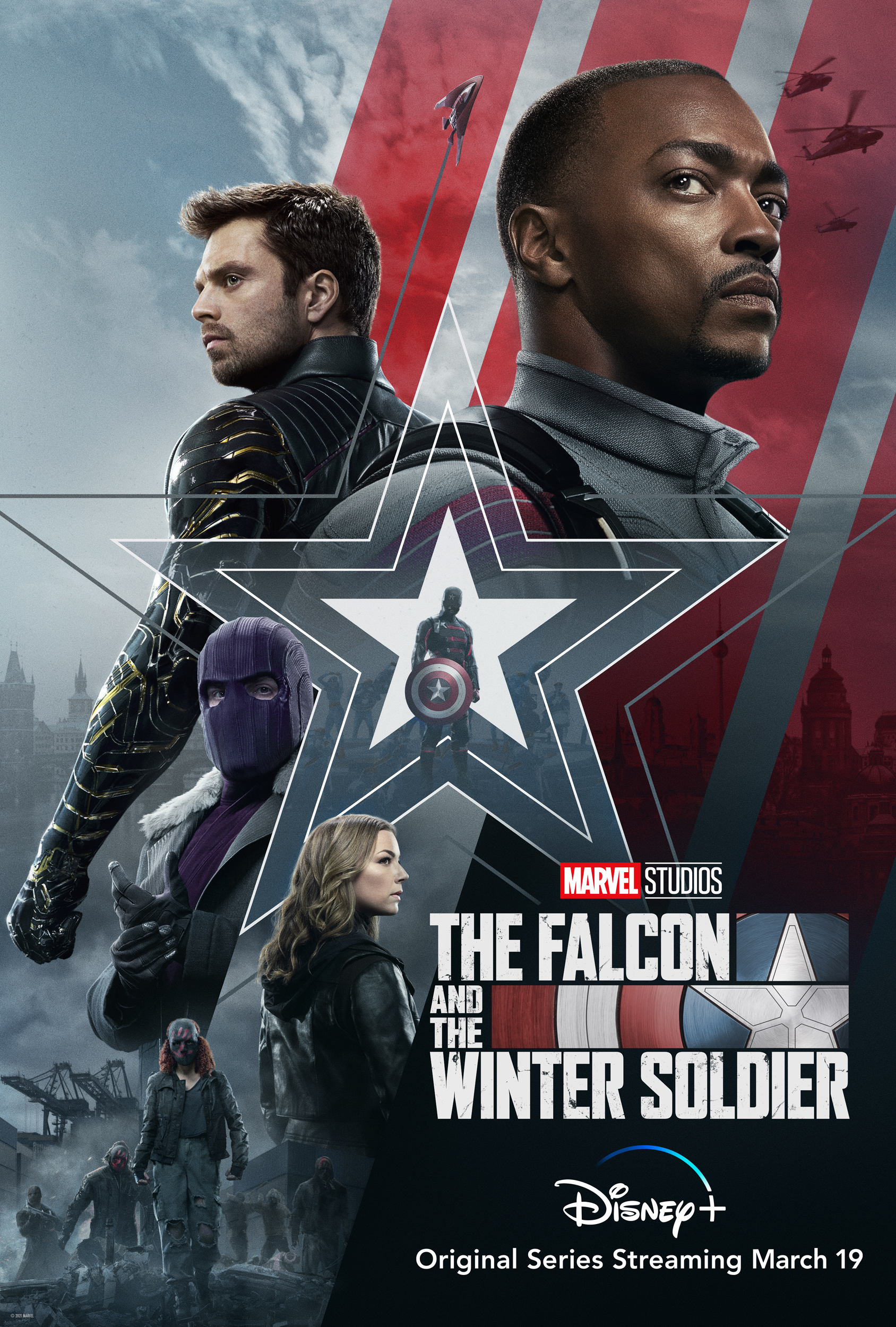 The Falcon And The Winter Soldier Key Art