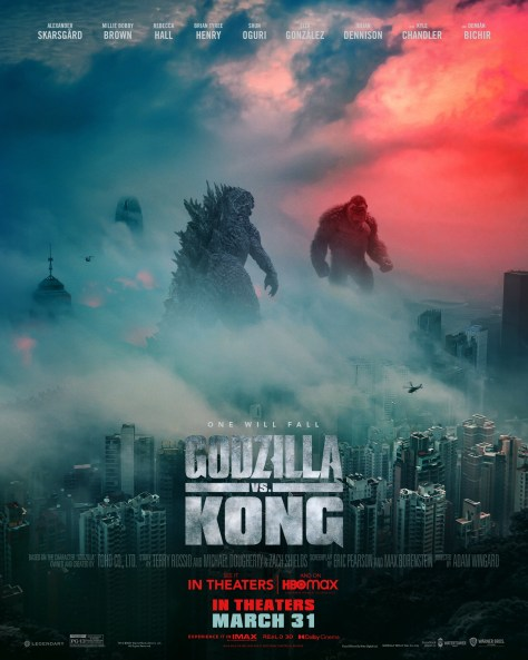 Godzilla vs Kong Poster 002
