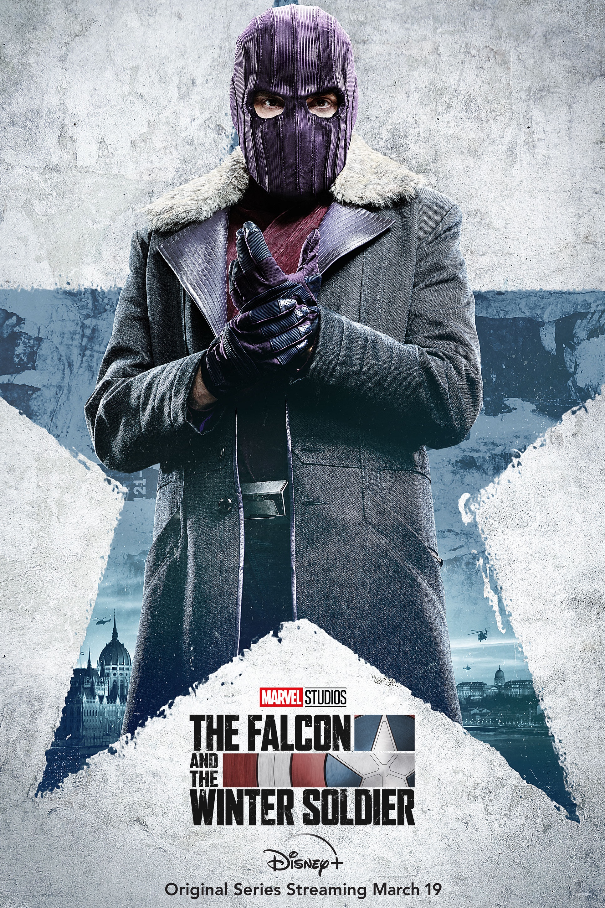 The Falcon And The Winter Soldier Character Poster - Baron Zemo