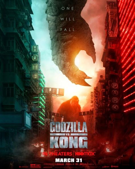 Godzilla Vs Kong - Godzilla Hands Poster