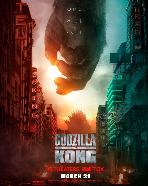 Godzilla Vs Kong - Kong Hands Poster