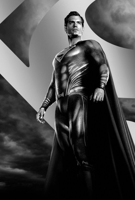 Zack Snyder's Justice League Superman Character Poster Textless