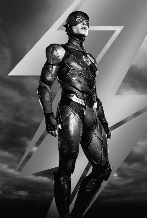 Zack Snyder's Justice League The Flash Character Poster Textless