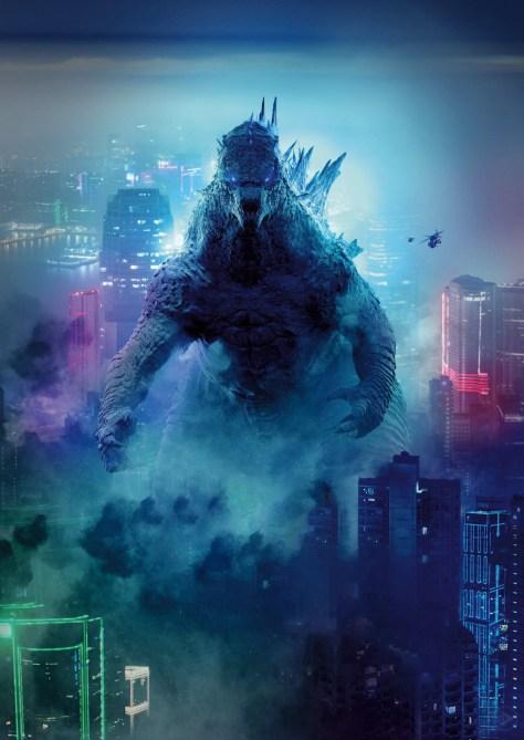 Godzilla vs Kong International Godzilla Poster Textless
