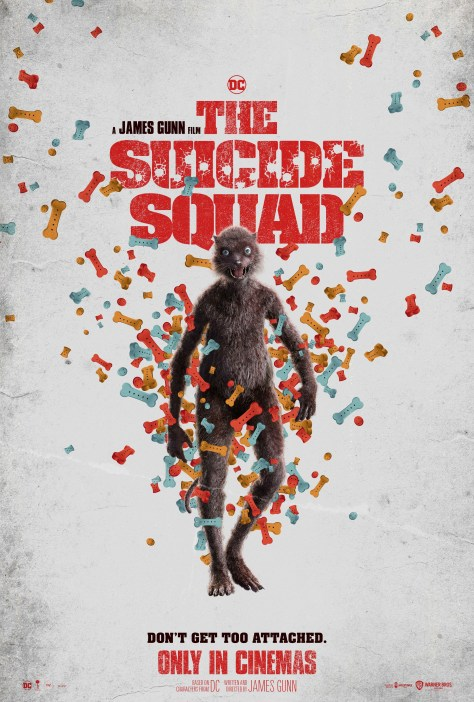 The Suicide Squad Weasel Poster