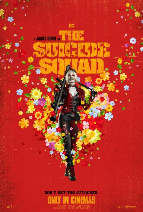 The Suicide Squad Harley Quinn Poster