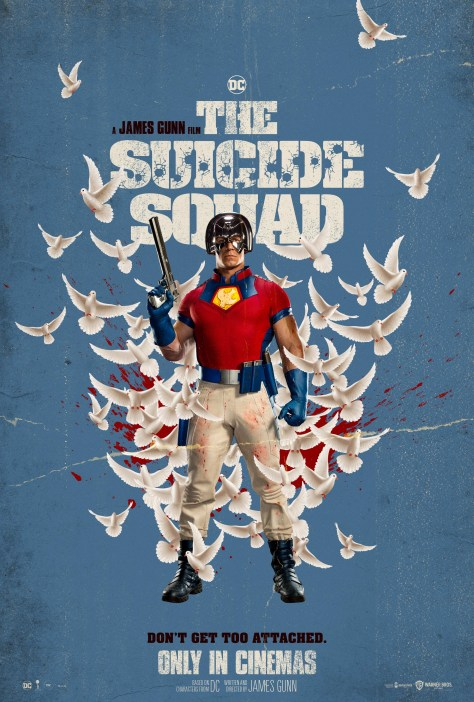 The Suicide Squad Peacemaker Poster